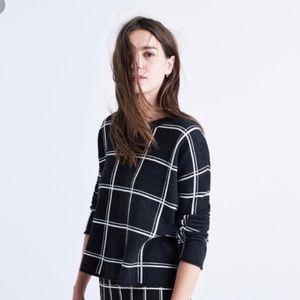 Madewell Double Windowpane Sweater